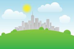 特大的城市 免版税库存照片