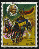 特奥多尔・蒙森罗马历史和画象麦地那 免版税库存照片