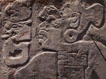 特奥蒂瓦坎,墨西哥,在阿兹台克文化之前的古老哥伦布发现美洲大陆以前文明 免版税库存照片