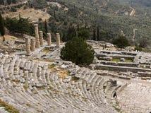 特尔斐希腊 免版税图库摄影