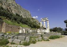 特尔斐希腊 免版税库存图片
