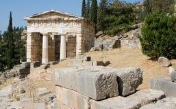 特尔斐希腊oracle 免版税库存图片