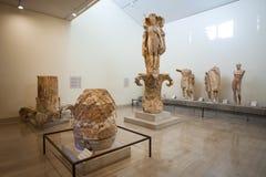 特尔斐考古学博物馆 免版税库存照片