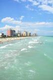 默特尔海滩南卡罗来纳看法  库存图片