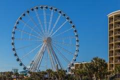 默特尔海滩Skywheel 图库摄影