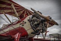 特技飞机 库存图片