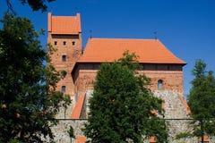 特拉凯城堡的宫殿 图库摄影