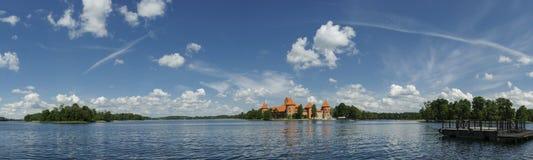 特拉凯城堡,立陶宛,欧洲 免版税图库摄影