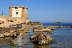 特拉帕尼利尼的塔 免版税库存图片