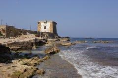 特拉帕尼西西里岛 库存照片