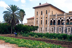 特拉普派者修道院在Latrun以色列 免版税库存图片