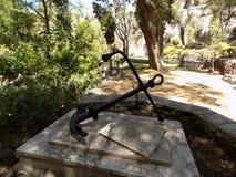 特拉法加公墓直布罗陀 库存图片