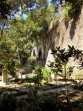 特拉法加公墓直布罗陀 免版税库存图片