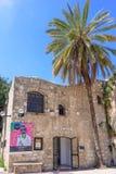 特拉维夫,以色列- 2017年4月:上古贾法角博物馆博物馆,位于的老Saraya议院的考古学博物馆 免版税库存照片