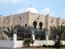 特拉维夫哈桑土侯清真寺圆顶2011年 库存图片