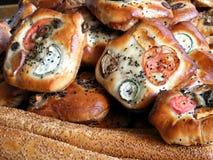 特拉维夫面包和面包店产品2011年1月 免版税库存图片