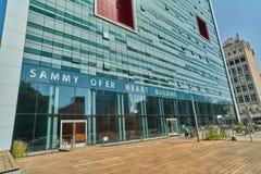 特拉维夫- 10 02 2017年:Ihilov医疗中心在特拉维夫, buildi 库存图片