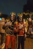 特殊事件的时刻-西部好莱坞万圣夜Carnaval 库存图片
