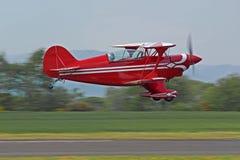 特殊双翼飞机的pitts 库存照片