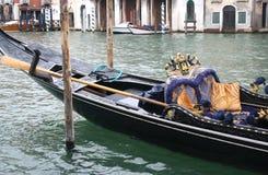 特殊场合的威尼斯式长平底船 库存照片