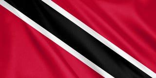 特立尼达和多巴哥沙文主义情绪与风 库存例证