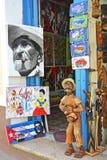 特立尼达艺术商店 免版税库存图片