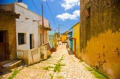 特立尼达,古巴- 2015年9月8日:选定了a 免版税图库摄影