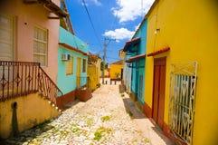 特立尼达,古巴- 2015年9月8日:选定了a 库存照片