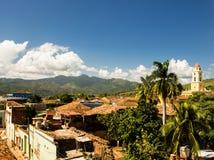 特立尼达,古巴的风景 库存照片