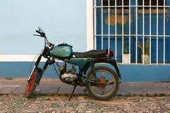 特立尼达,古巴,街道场面 免版税库存照片