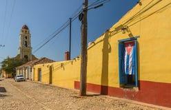 特立尼达,古巴 免版税图库摄影