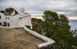 特立尼达,锡切斯,西班牙的教堂 库存图片