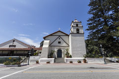 维特纳使命在南加州 库存图片