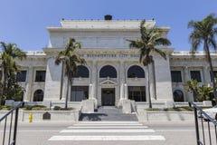 维特纳香港大会堂在南加州 库存图片