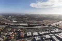 维特纳高速公路Oxnard加利福尼亚天线 免版税库存图片