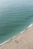 特罗佩亚海滩 免版税库存图片