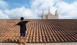 特罗佩亚,卡拉布里亚,南意大利,意大利,欧洲 免版税库存照片