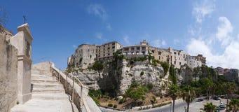 特罗佩亚,卡拉布里亚,南意大利,意大利,欧洲 库存图片