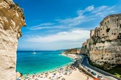 特罗佩亚-意大利 免版税库存图片