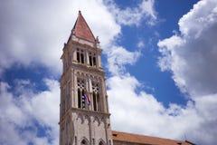特罗吉尔大教堂 库存图片