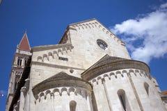 特罗吉尔大教堂 免版税库存照片