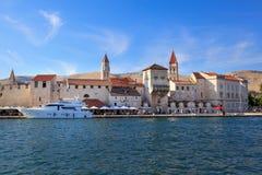 特罗吉尔耶路撒冷旧城,克罗地亚 免版税库存图片