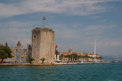 特罗吉尔,克罗地亚城堡  库存图片