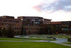 特罗姆瑟,挪威大学  免版税库存图片
