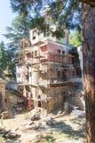 特罗扬修道院的恢复在保加利亚 库存图片