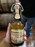 代特莫尔德行政区德国啤酒 免版税库存照片