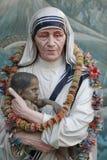 特蕾莎修女 库存照片