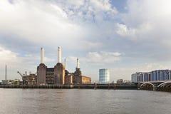 巴特西发电站,伦敦 免版税库存图片