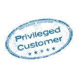 特许的顾客不加考虑表赞同的人 向量例证