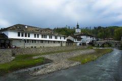 特里亚夫纳,保加利亚,欧洲看法  免版税库存图片